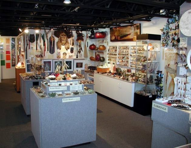 All Matters Gallery offers a variety of items – like crystals, pocket hearts, butterfly jewelry and ceremonial masks – to encourage beauty, comfort and inspiration. Photo by All Matters Gallery