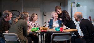 Richard Thomas (from left), Therese Plaehn, Pamela Reed, Lauren Klein, Daisy Eagan and Luis Vega. Photo / Julieta Cervantes
