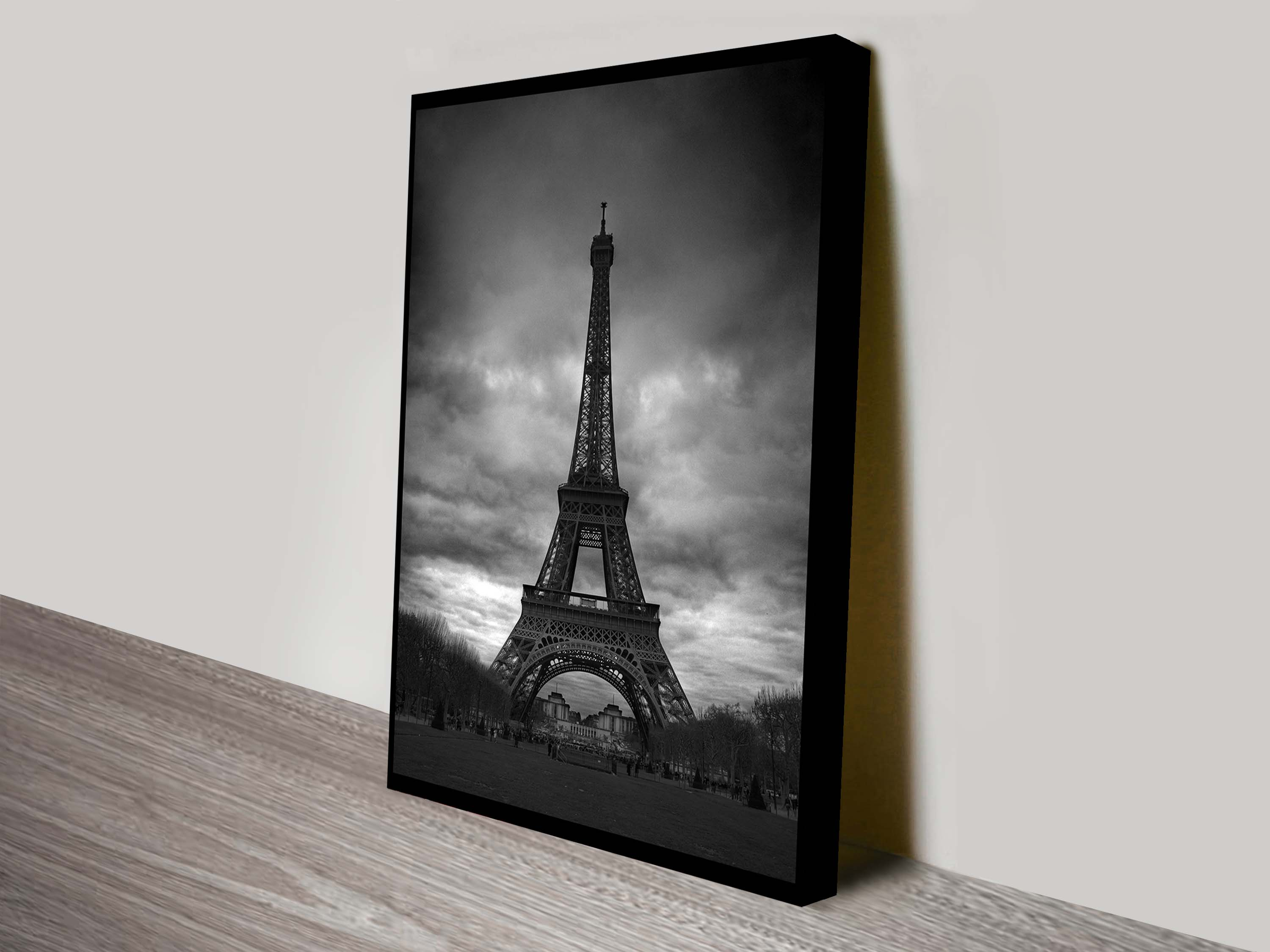 Black And White Canvas Prints Eiffel Tower Black And White Canvas Art Print