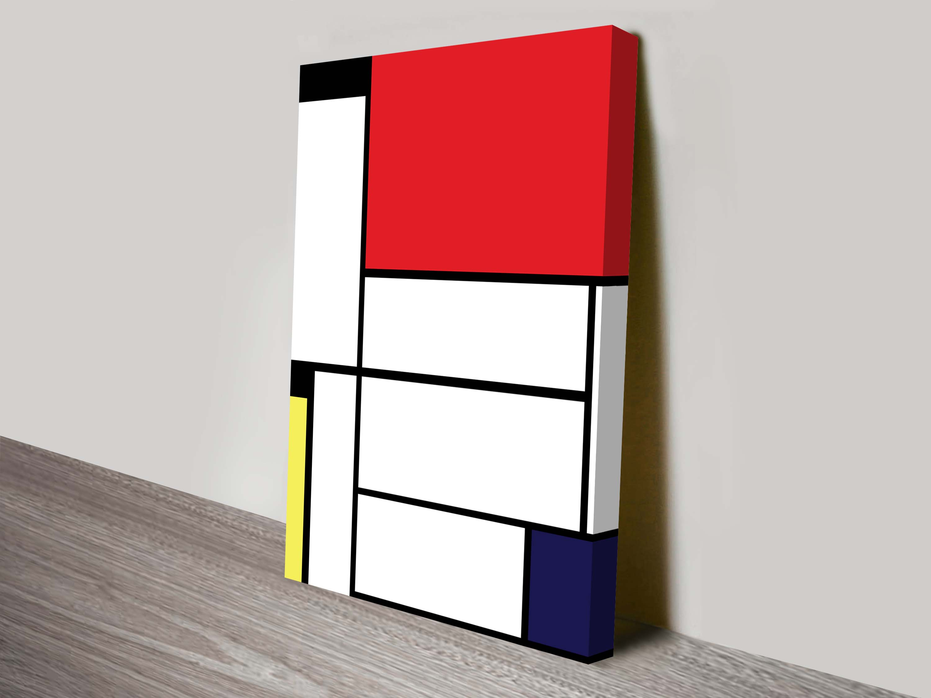 Mondrian Wall Mondrian Tableau Ii Wall Art Painting Print Online Artwork