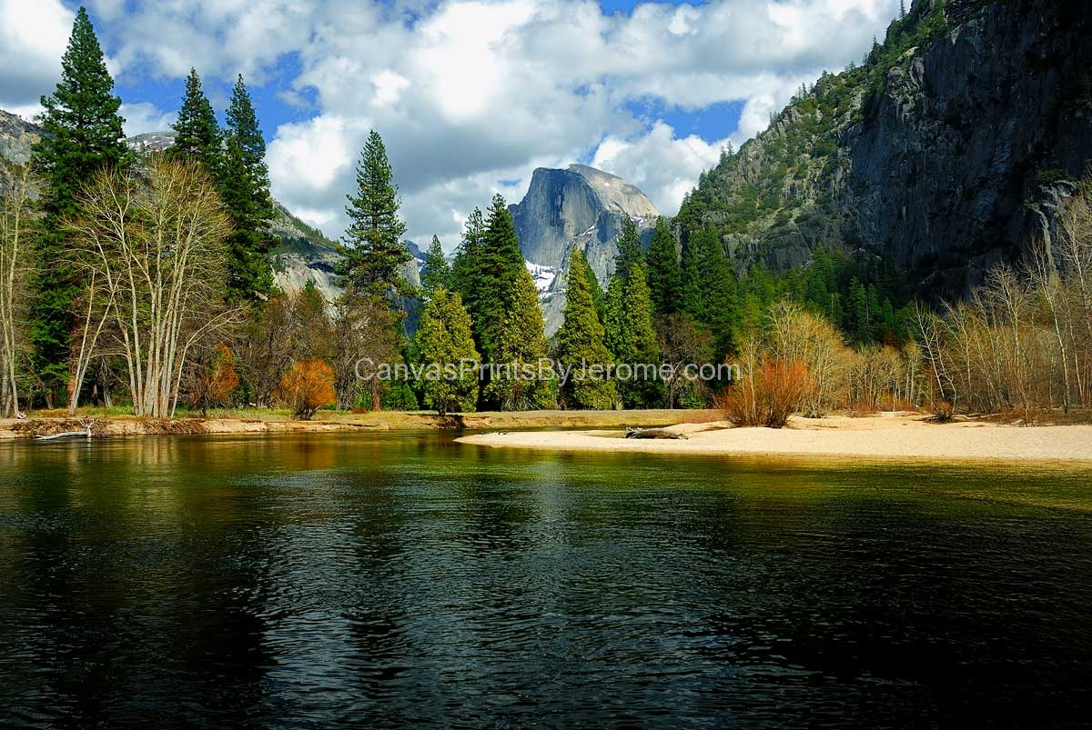 Home Online Shop Yosemite / Half Dome - Canvas Prints By Jerome