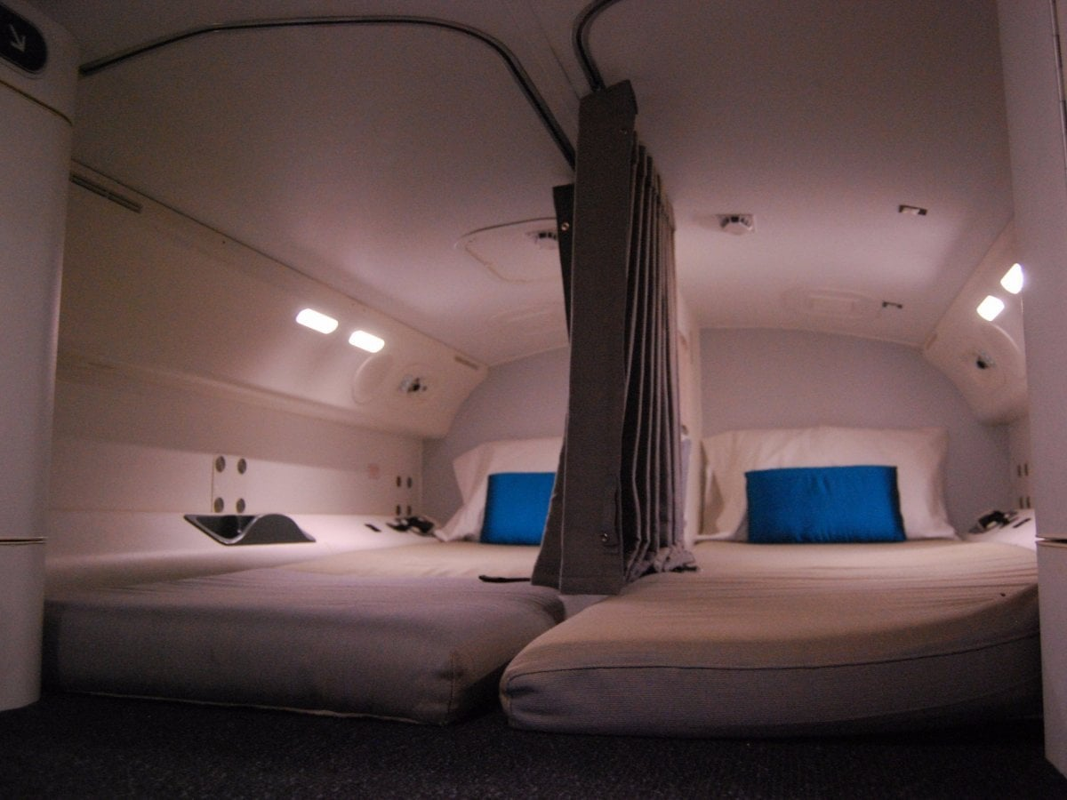 Airplane Bedrooms Here 39s The Secret Room On Airplanes Where Flight