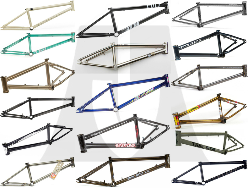 2016 Trails Frame Buyers Guide - Can You Dig It BMX
