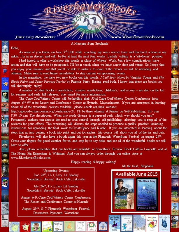 Riverhaven June 2015 Newsletter