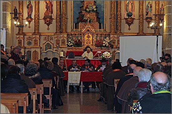 Cerimónia do Capítulo na Igreja do Soito
