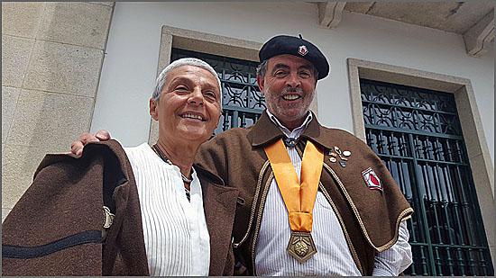 António Henrique Cardoso representou o Bucho Raiano em Manteigas