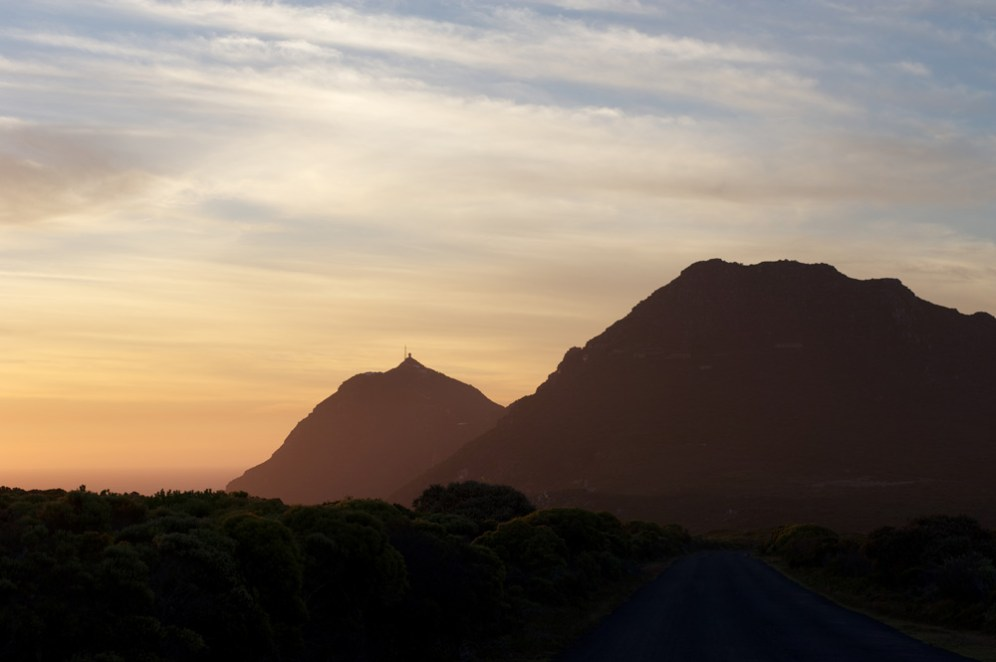 Get to Cape Point early, and you'll be rewarded with few crowds and a dramatic False Bay sunrise