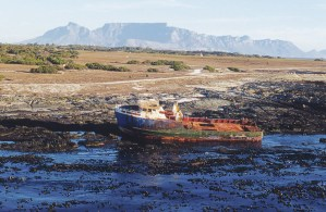 Many shipwrecks litter the shores of Robben Island