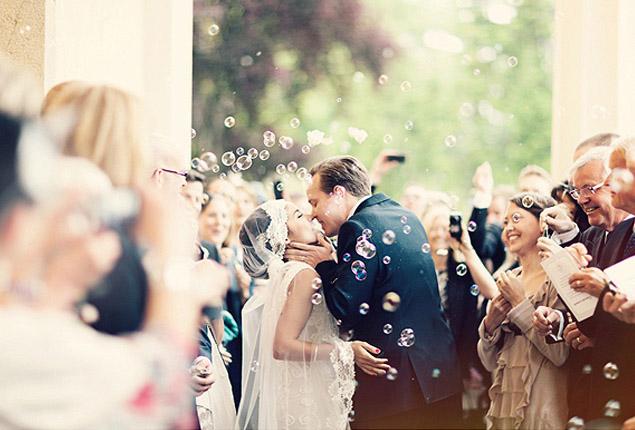 Cape Town Wedding Send Off Bubbles