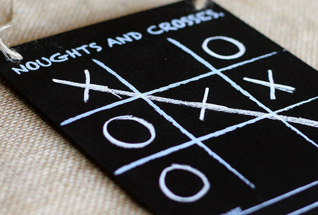Cape Town Wedding Games Noughts and Crosses