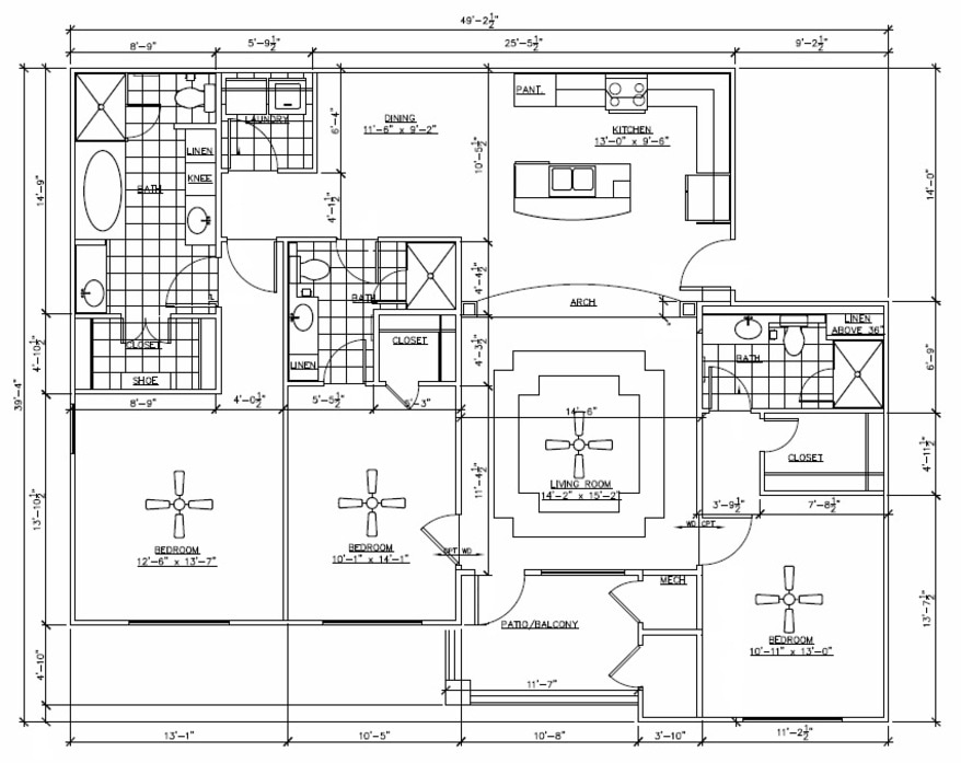 Floor Plans In North Little Rock River Pointe North