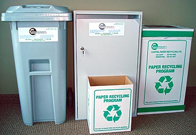 Office Recycling Capital Paper Recycling Ltd - Custom Boxes Calgary