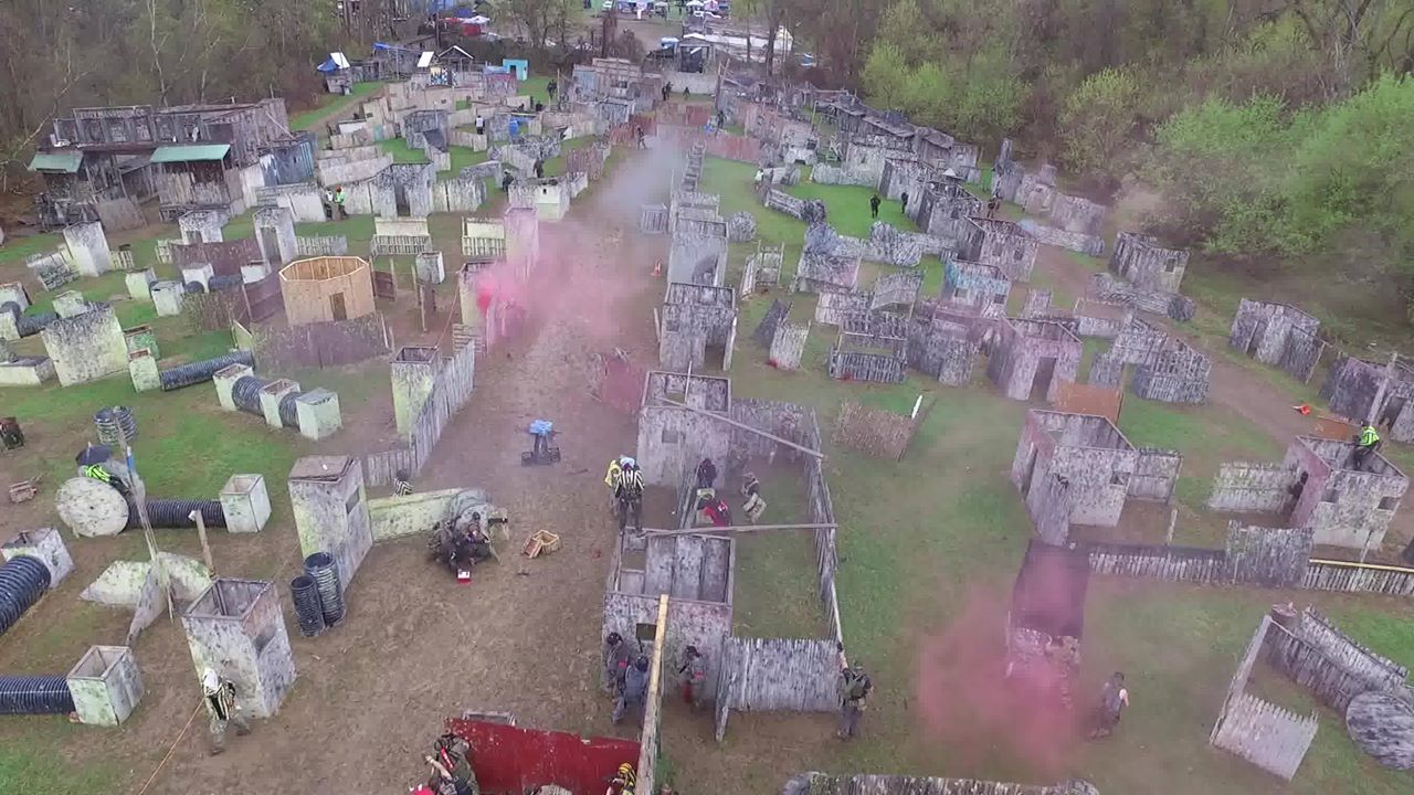 Toys Are Us Paintball Fields- Albany/troy New York - Capital Combat Zone