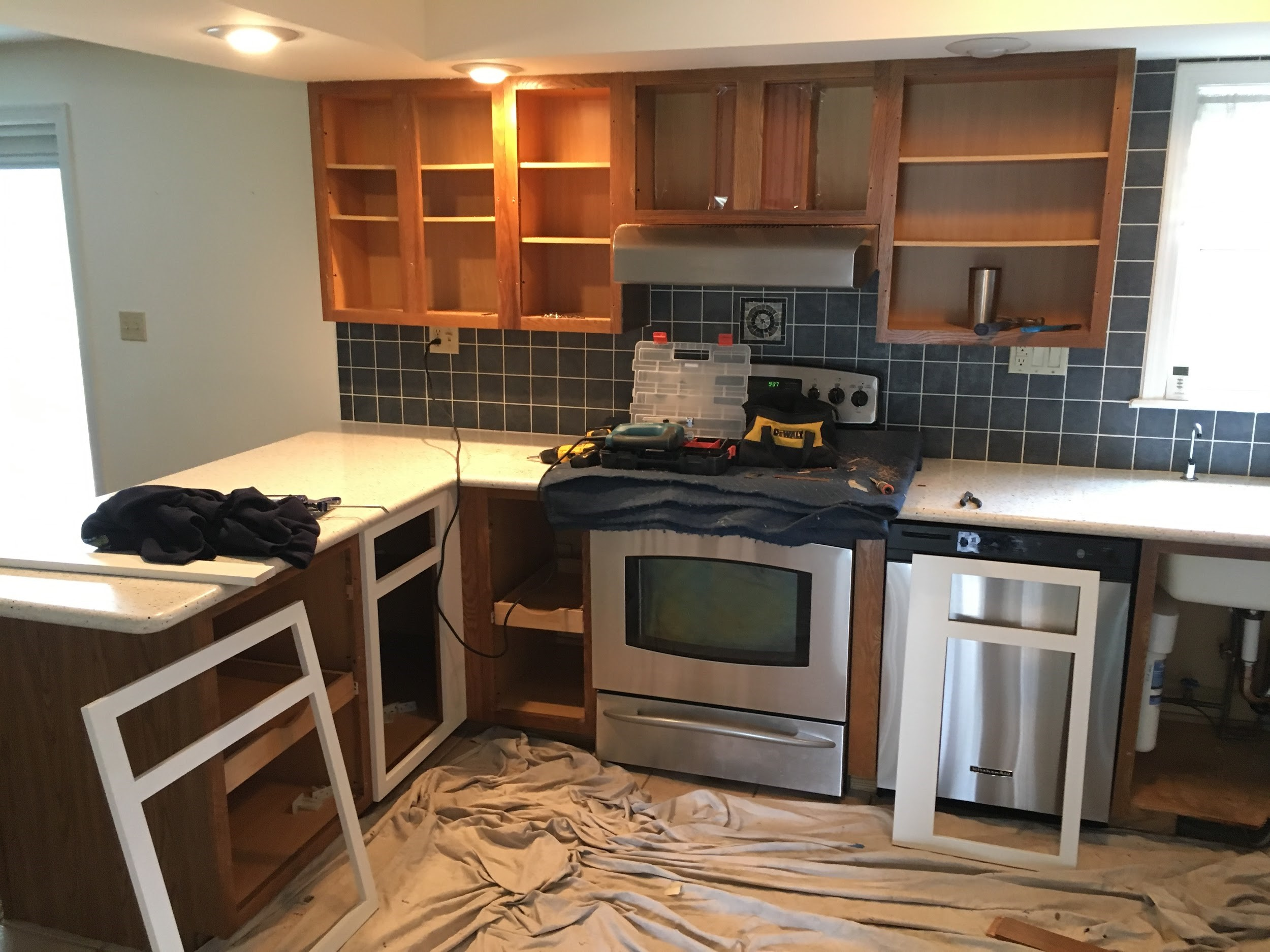 Refacing Kitchen Cabinets Cost Estimate Kitchen Cabinet Refacing