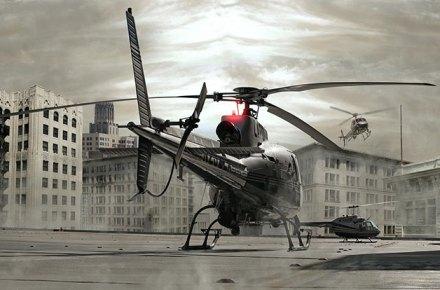 Aterrizaje de un helicoptero, Historia del helicóptero, Historia del helicoptero