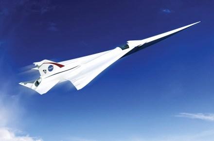 Jet supersónico silencioso