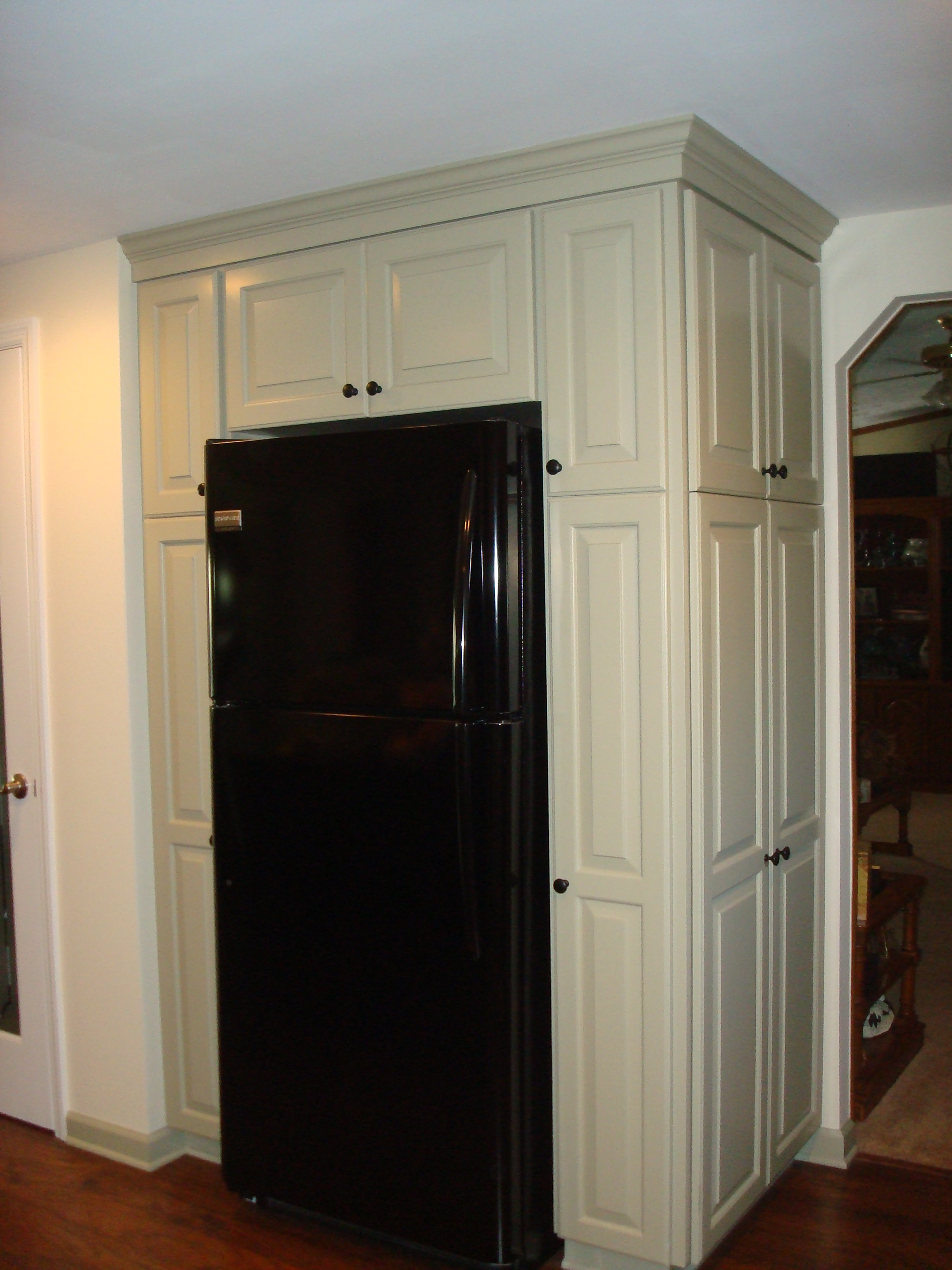 Kitchen Cabinets Around Refrigerator Mrs Martins Custom Kitchen Cabinetscapitol Cabinets