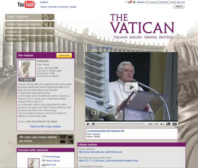1vatican youtube