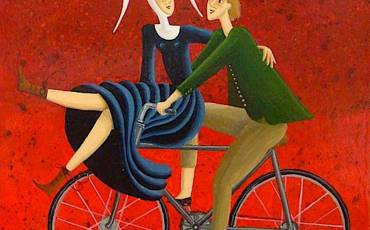 carole-beatrice-perret-paintings_urbancycling_1