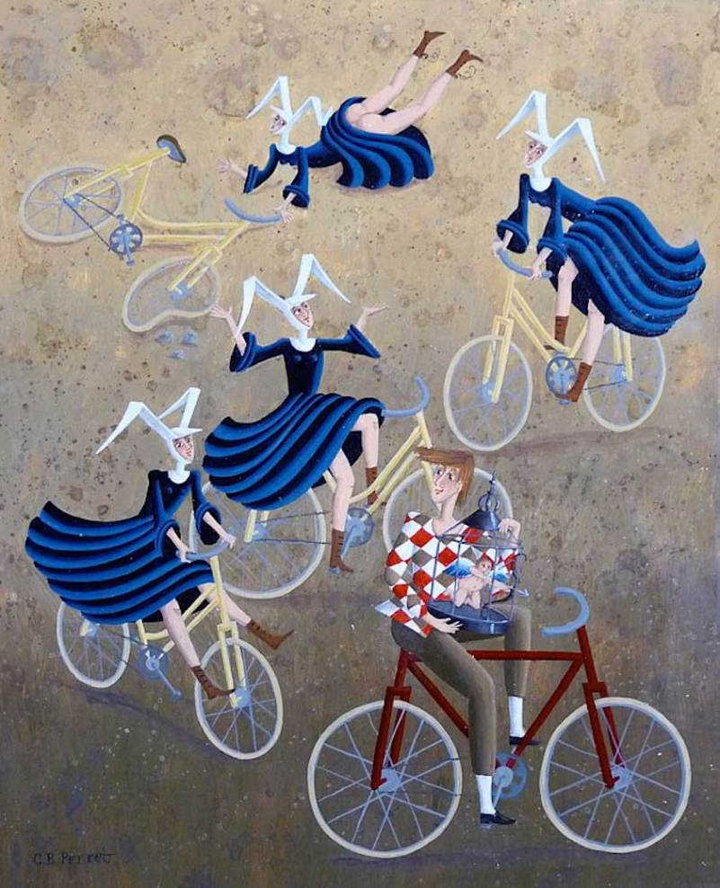 carole-beatrice-perret-paintings_urbancycling_5