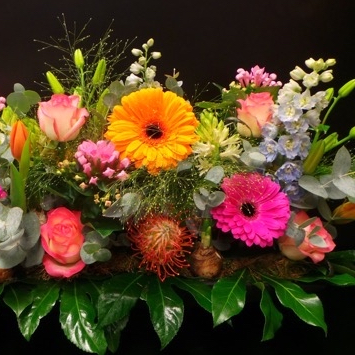 capri bloemen colour
