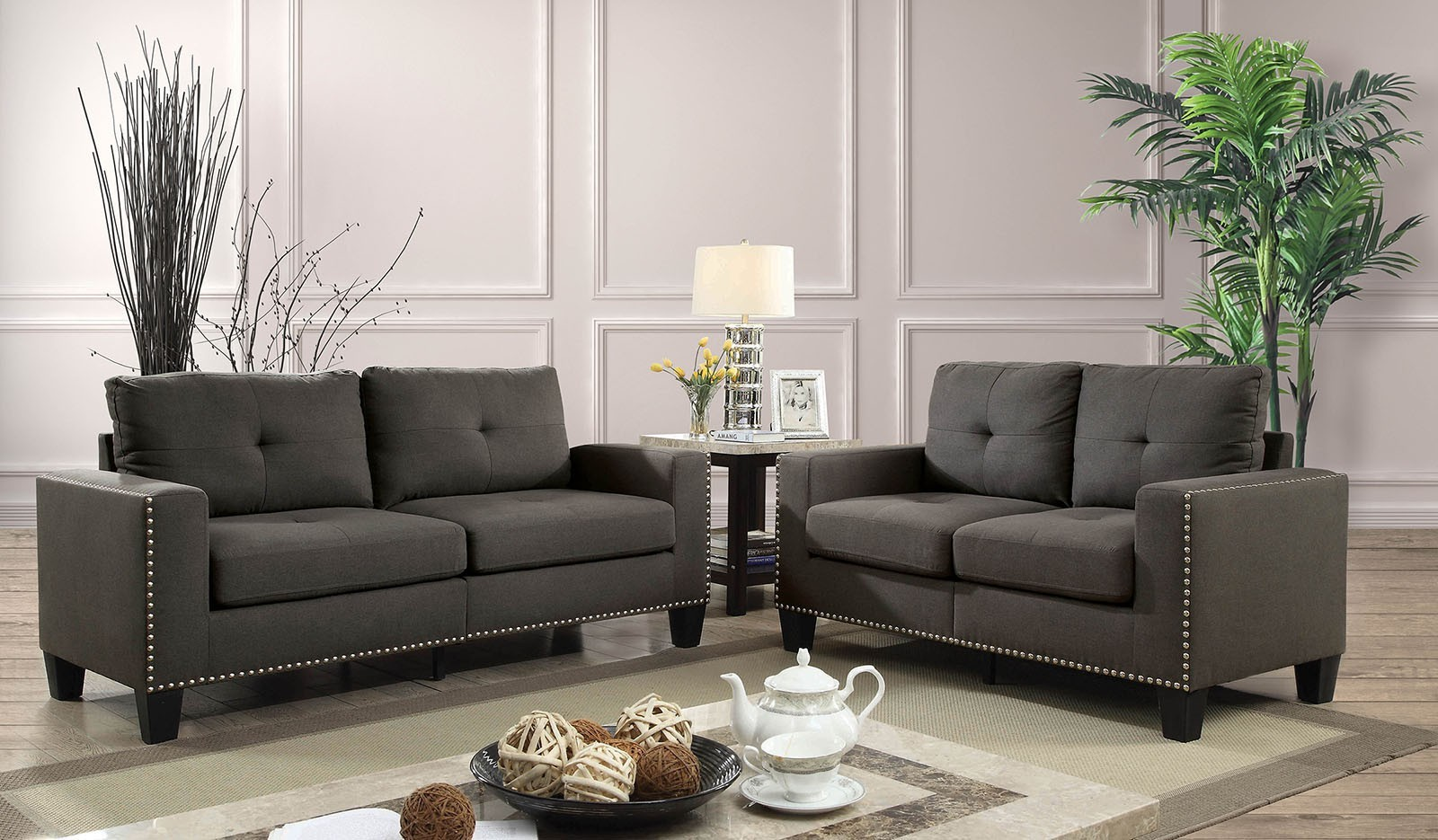 Sofa Set On Sale Sale Attwell 2pc Sofa Loveseat Set Sofa Sets Living Room
