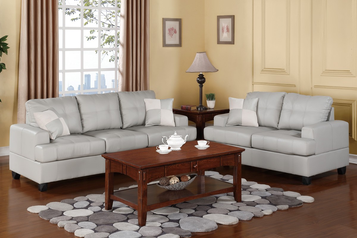 Sofa Set Grau Colton Sofa And Loveseat Set Gray Sofa Sets Living Room