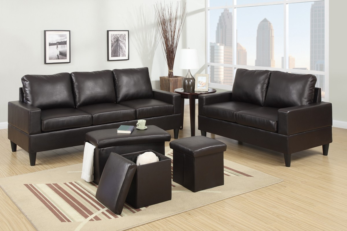 Sofa Set On Sale Sale F7598 2pc Sofa And Loveseat Set Sofa Sets Living Room