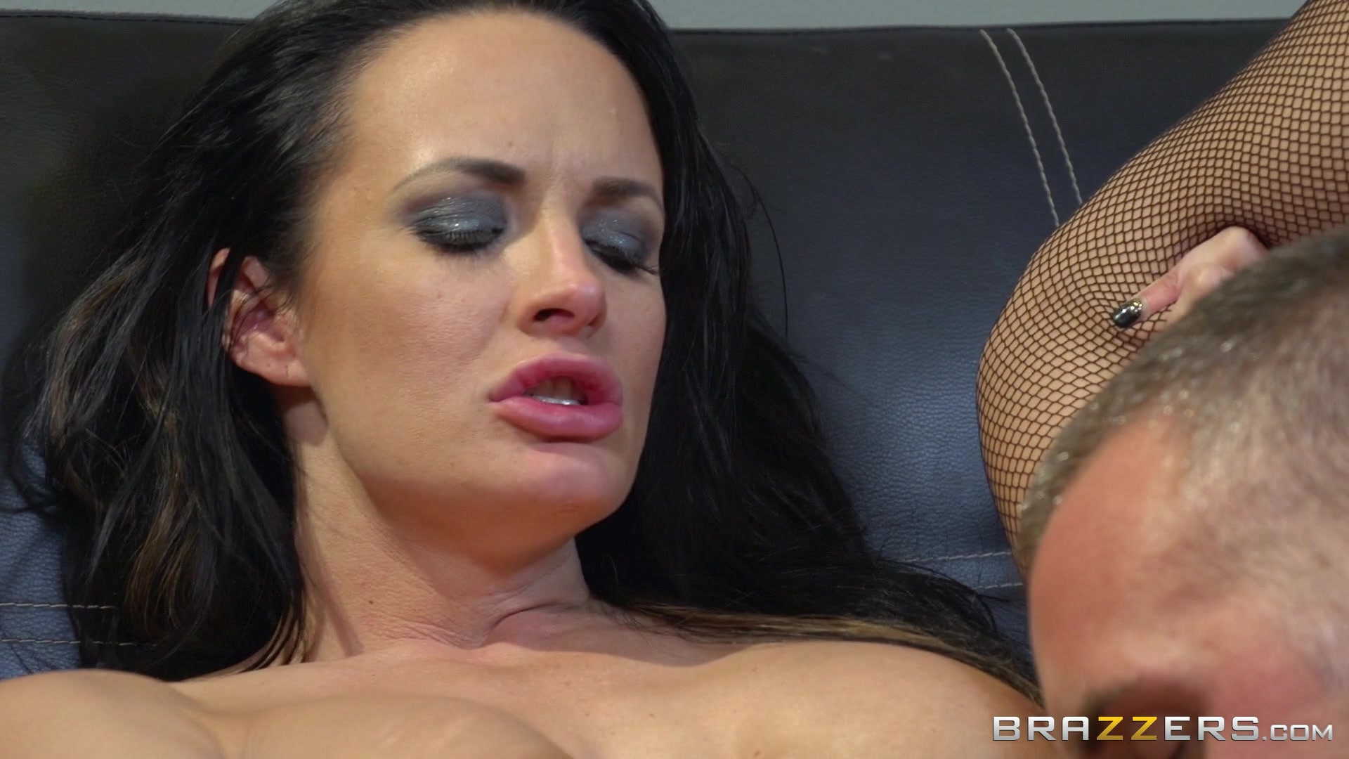 Dark Haired Busty Babe Alektra Blue Takes an Ass Pounding Starring:  Alektra Blue