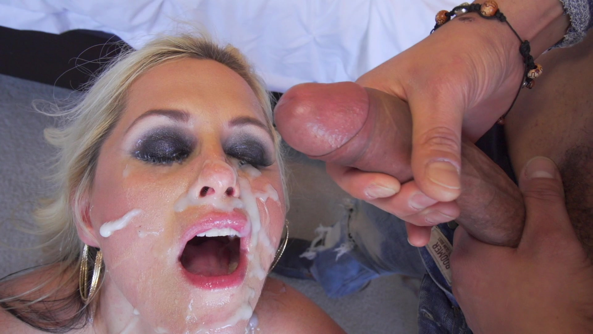 Blonde Beauty Alena Croft Shows Black Stud Lexington Steele How Much She Loves H... Starring:  Lexington Steele  Alena Croft