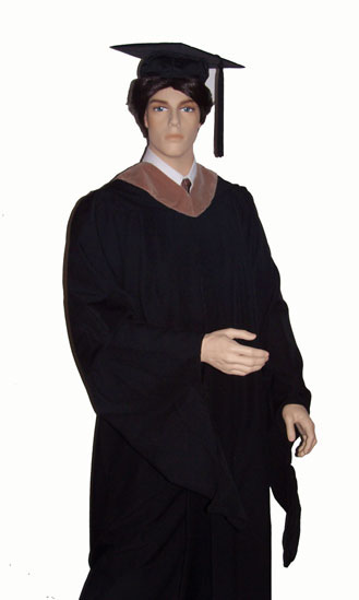 Masters degree academic regalia by Caps and Gowns Direct