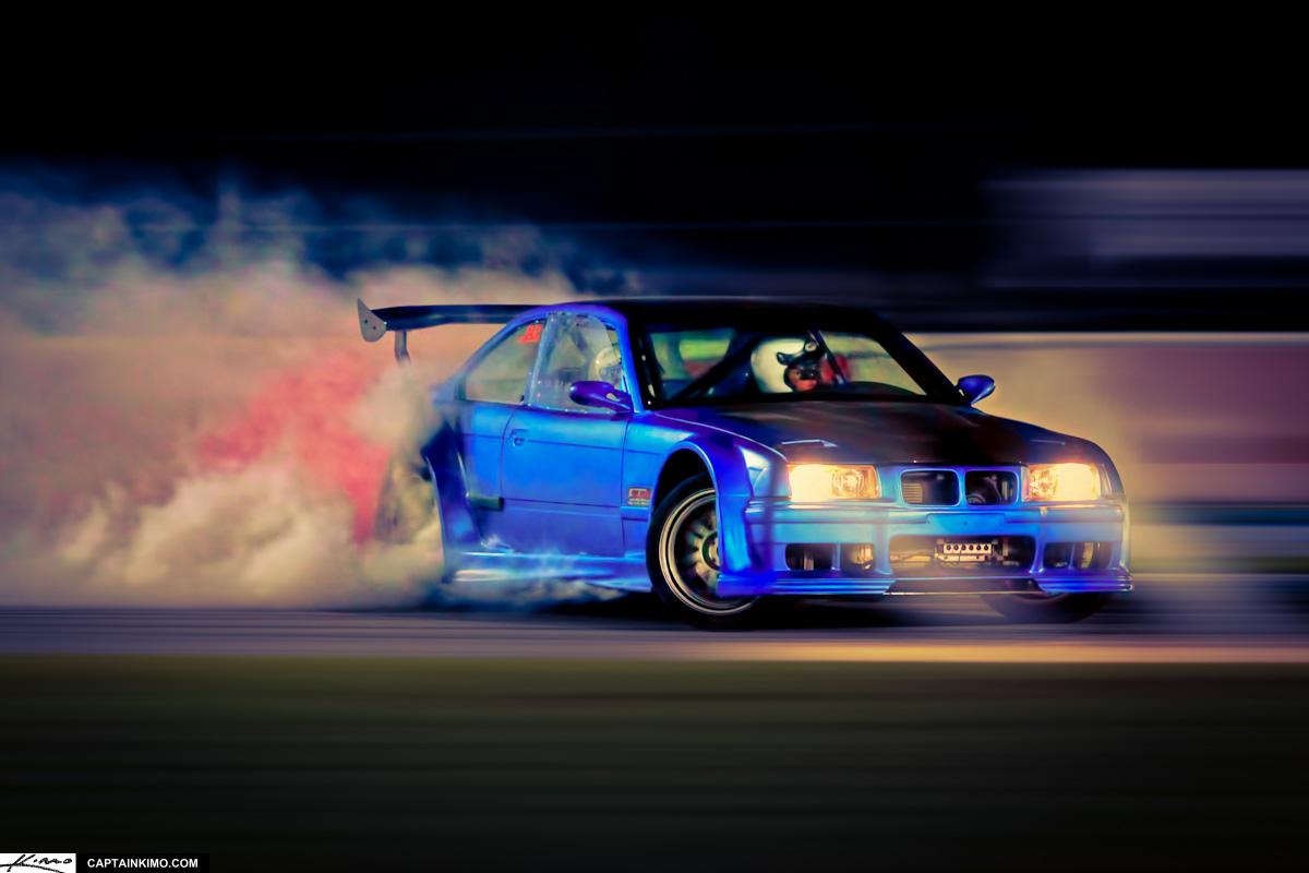Car Hdr Wallpaper Ter Tech S Bmw Drifting At Palm Beach International Raceway