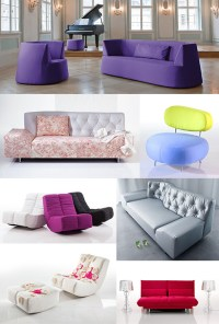 Colorful Modern Furniture by Bruhl (Bruehl)