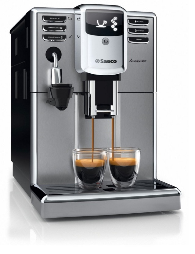 Saeco Incanto - Cafetera espresso súper automática