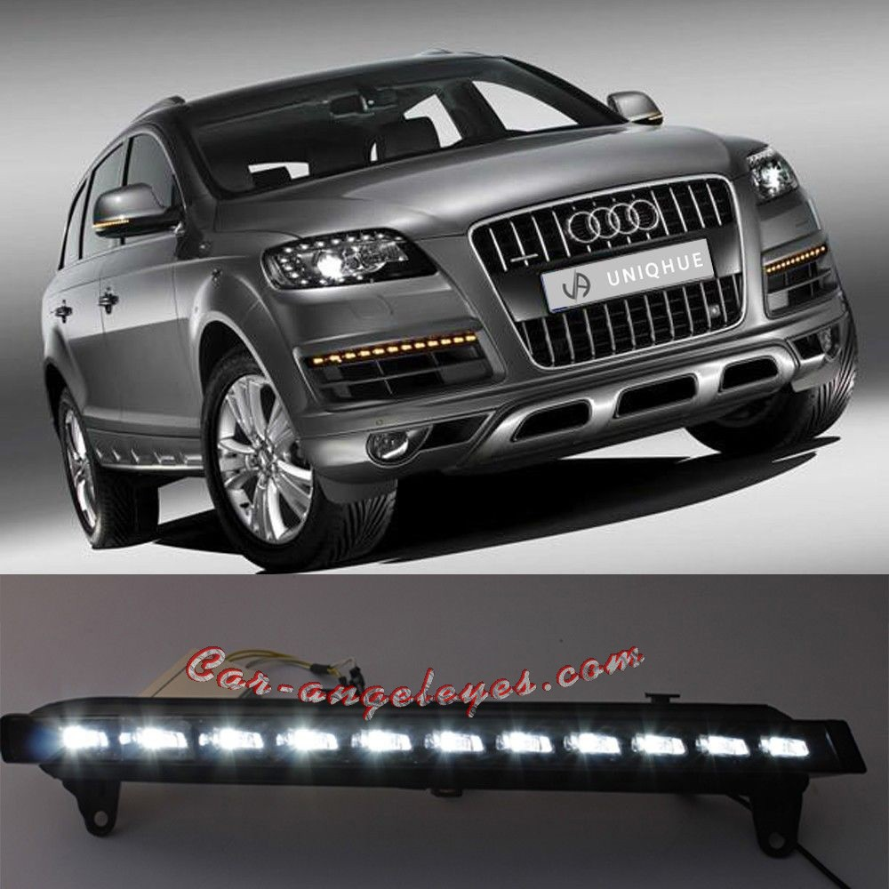 Luz Led Intermitente Audi Q7 Luz Dia Con Intermitente En Led Car Angeleyes