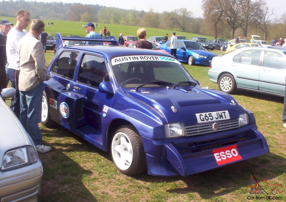 Mg 6r4 For Sale Mg Metro 6r4 Car Classics