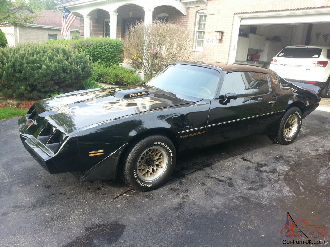 1979 Trans Am Picture 1979 Trans Am Black Gold 455