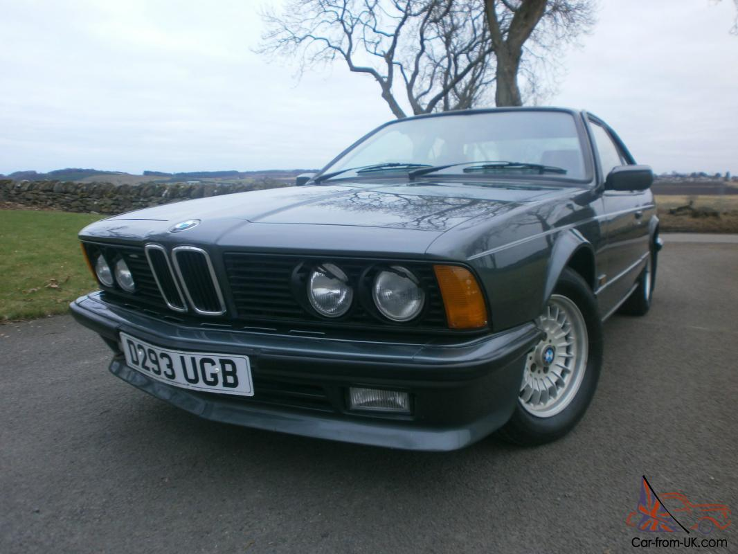 Anthrazit Metallic Bmw 1987 Bmw 635 Csi Auto In Rare Delphin Metalic