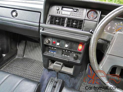 1990 H Volvo 240 23 Glt Estate Auto With 2 Dr Owners From