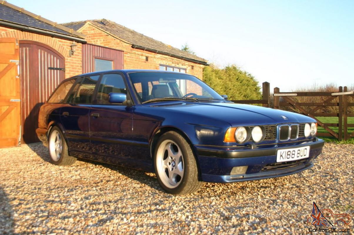 Anthrazit Metallic Bmw 1993 Bmw M5 Touring 3 8 Rare Car