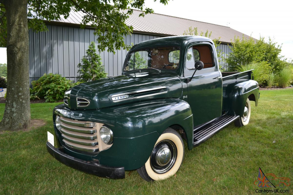 Pick Up 1948 Ford F 1 Pick Up Truck