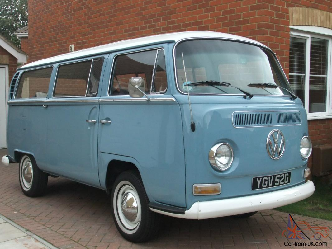 Travel Buggy With Sunroof 1969 Vw Early Bay Microbus Lhd Cal Import With Original Wind Back Sunroof