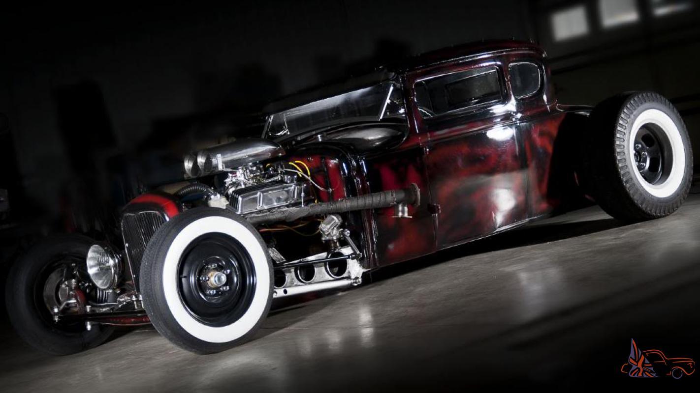 1931 ford model a coupe hot rod rat rod hotrod ratrod 1930