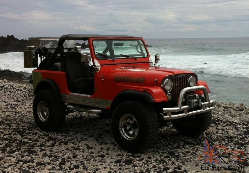 1982 Jeep CJ7 Custom Conversion