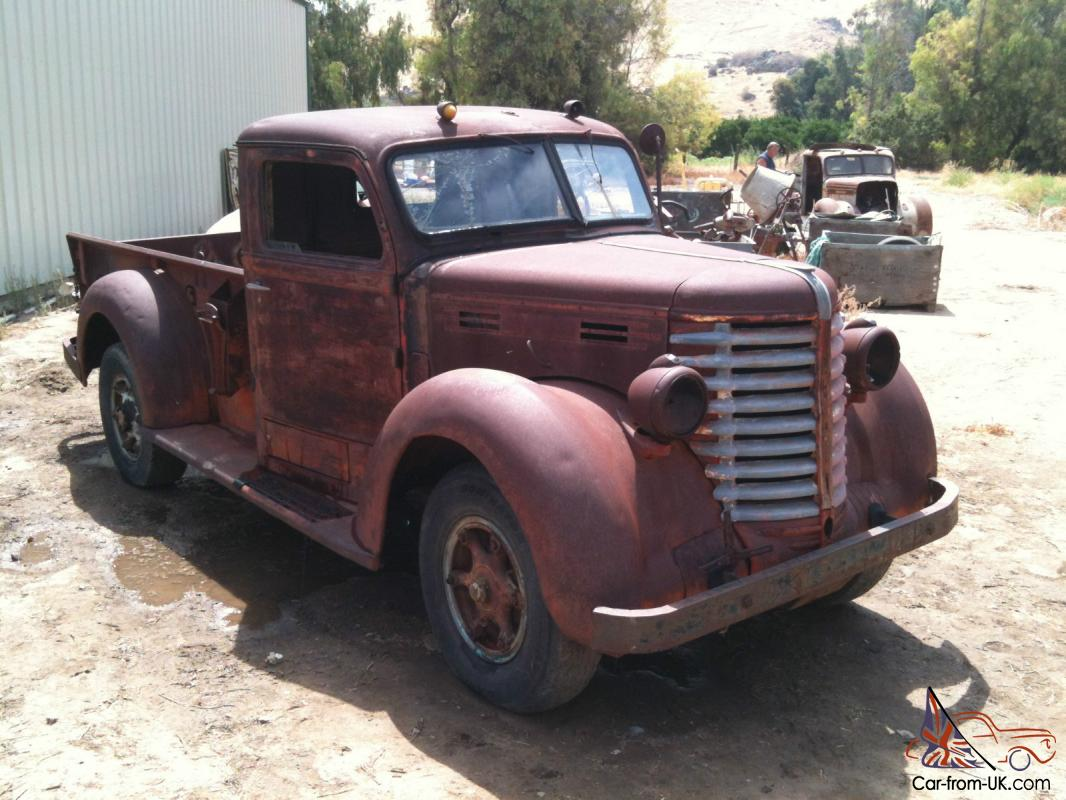 Pick Up 1947 Diamond T 201 Truck Pick Up