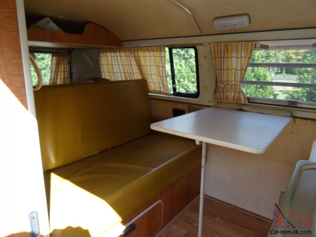 1971 Vw Bus Westfalia Weekender