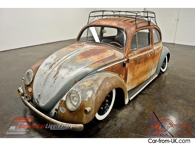 1957 Volkswagen Beetle Air Ride 1600cc 4 Speed Roof Rack