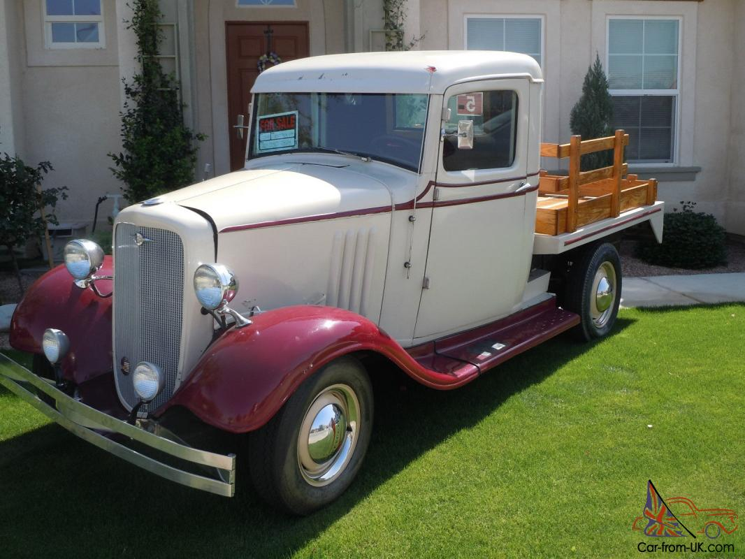 Pick Up 1934 Chevy Pick Up Truck