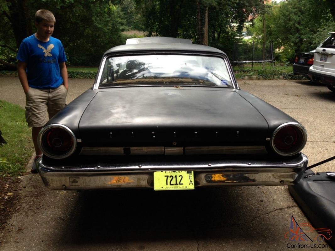 1963 ford galaxie 289 4 door