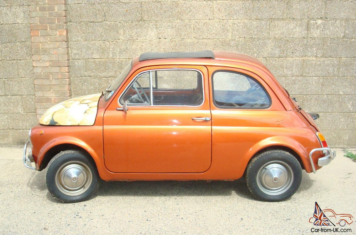 Fiat 500 Retro Classic Vintage Fiat 500 Right Hand Drive Tax Exempt